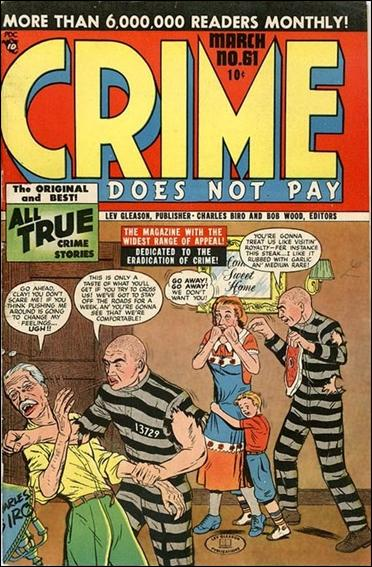 Crime Does Not Pay 61-A by Lev Gleason Productions
