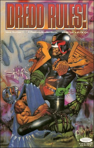 Dredd Rules! 1-A by Fleetway Quality