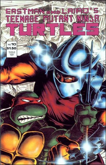 Teenage Mutant Ninja Turtles (1984) 10-A by Mirage