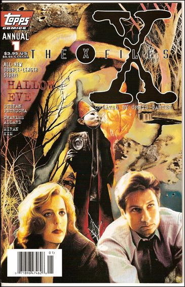 X-Files Annual (1995) 1-A by Topps