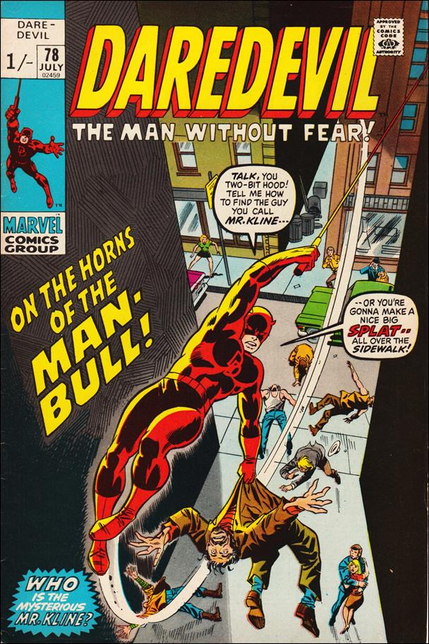 Daredevil (1964) 78-B by Marvel