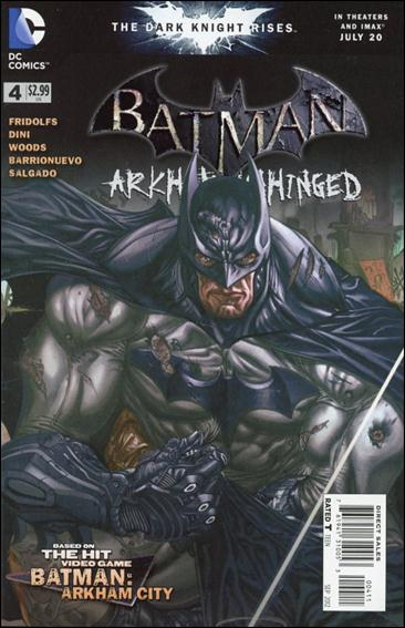 Batman: Arkham Unhinged 4-A by DC