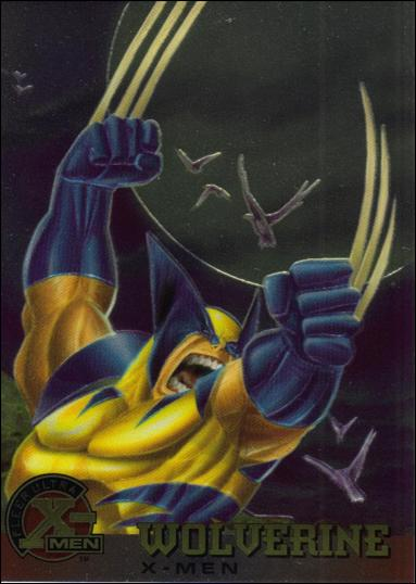 1995 Fleer Ultra X-Men All Chromium (Base Set) 13-A by Fleer