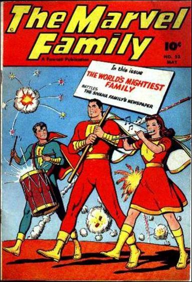 Marvel Family 23-A by Fawcett