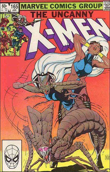Uncanny X-Men (1981) 165-A by Marvel