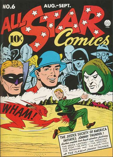 All Star Comics (1940) 6-A by DC