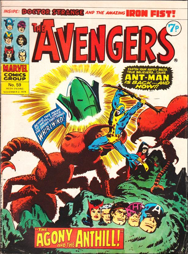 Avengers (UK) 59-A by Marvel UK