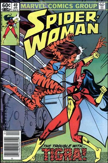 Spider-Woman (1978) 49-A by Marvel