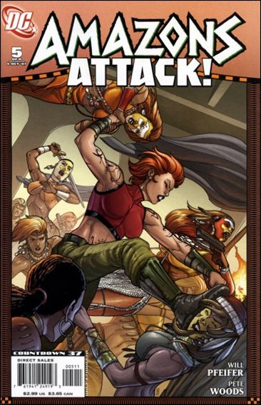 Amazons Attack 5-A by DC