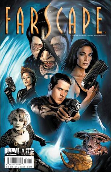 Farscape (2008) 1-A by Boom! Studios