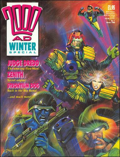 2000 A.D. Winter Special 1-A by Fleetway
