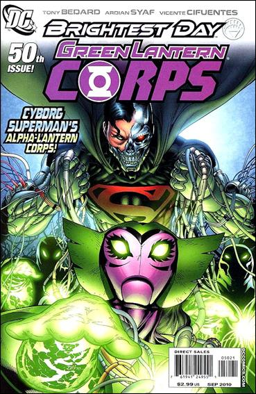Green Lantern Corps (2006) 50-B by DC