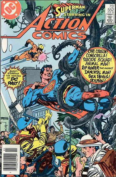 Action Comics (1938) 552-A by DC