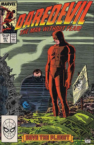 Daredevil (1964) 251-A by Marvel