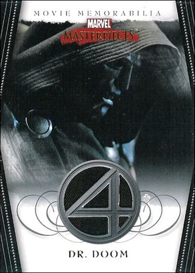 2008 Marvel Masterpieces: Series 2 (Movie Memorabilia Subset) nn 5-A by Upper Deck