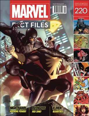 Marvel Fact Files 220-A