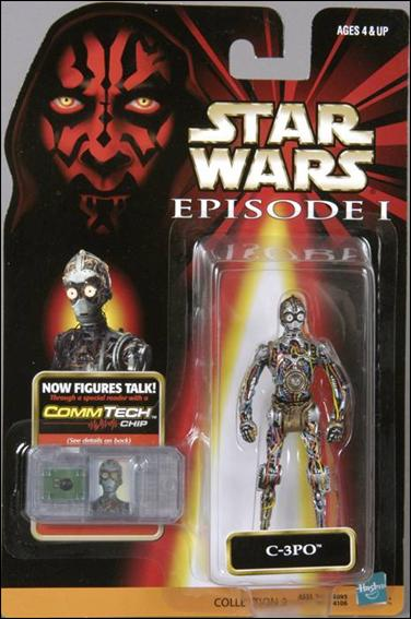"Star Wars: Episode I 3 3/4"" Basic Action Figures C-3PO (No Logos) by Hasbro"