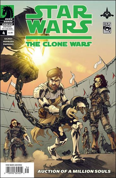 Star Wars: The Clone Wars 4-A by Dark Horse