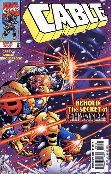 Cable (1993) 52-A by Marvel