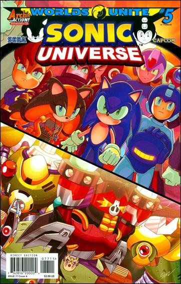 Sonic Universe 77-A by Archie