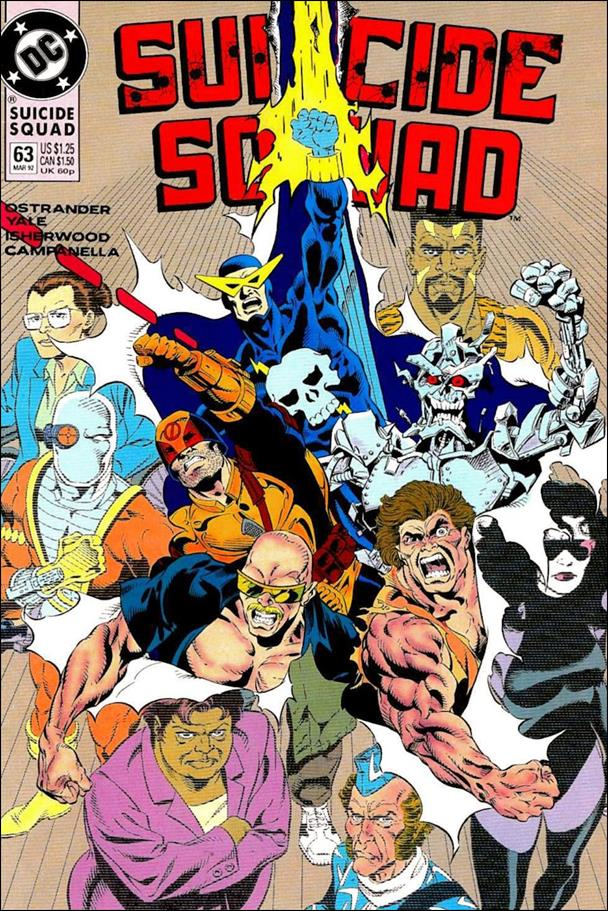 Suicide Squad (1987) 63-A by DC