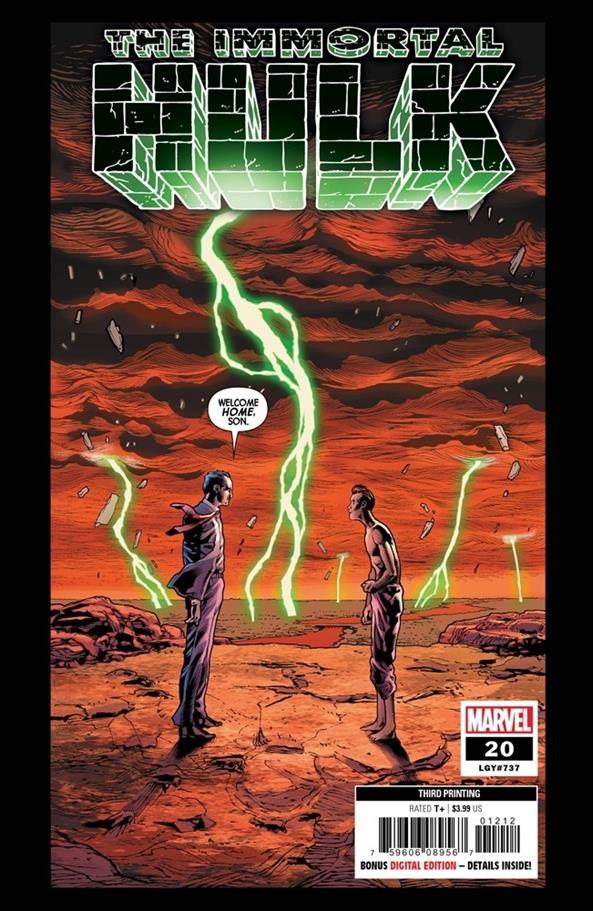 Immortal Hulk 20-F by Marvel