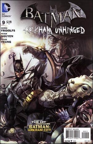 Batman: Arkham Unhinged 9-A by DC
