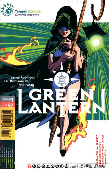 Tangent Comics/Green Lantern 1-A by DC