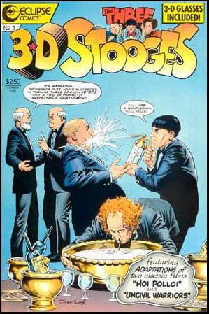 3-D Three Stooges 3-A by Eclipse