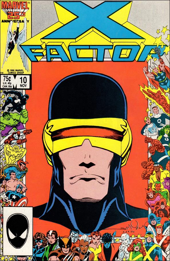 X-Factor (1986) 10-A by Marvel