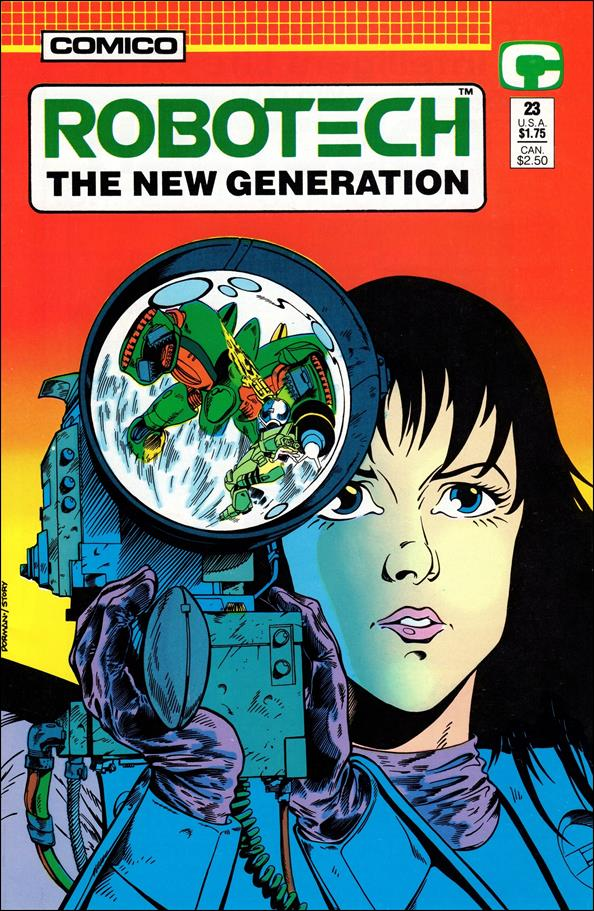 Robotech: The New Generation 23-A by Comico