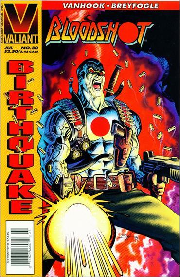 Bloodshot (1993) 30-B by Valiant