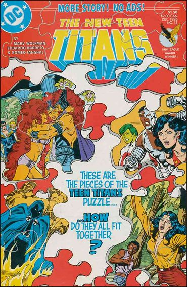 New Teen Titans (1984) 15-A by DC