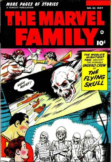 Marvel Family 83-A by Fawcett