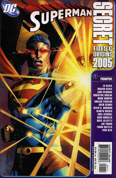 Superman Secret Files and Origins 2,005-A by DC