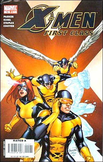 X-Men: First Class (2007) 15-A by Marvel