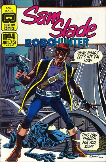 Sam Slade Robo Hunter 4-A by Quality Comics
