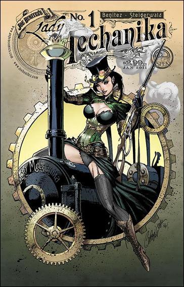 Lady Mechanika 1-B by Aspen