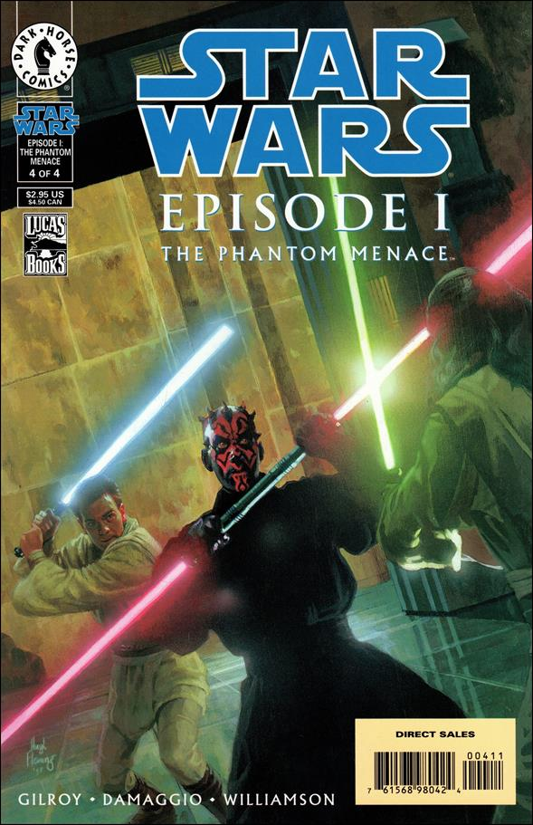 Star Wars: Episode I The Phantom Menace 4-A by Dark Horse