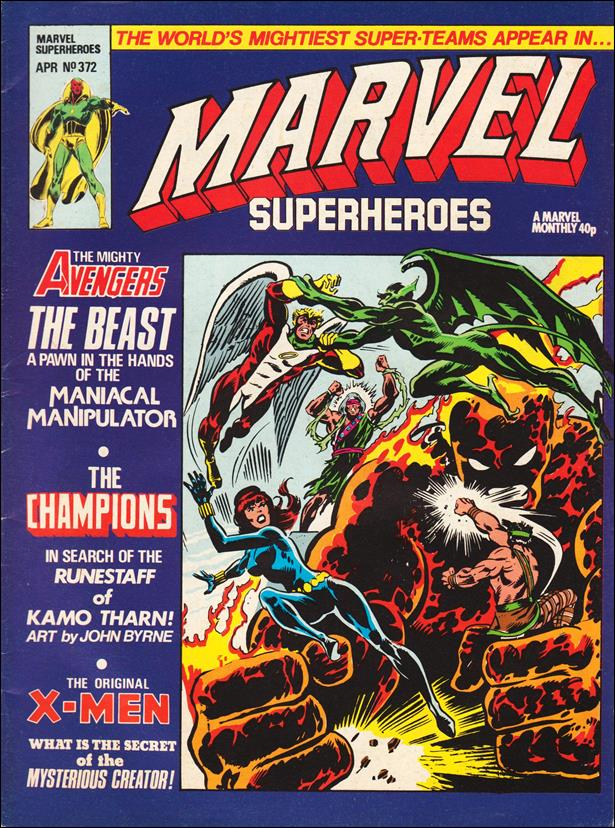 Marvel Superheroes (UK) 372-A by Marvel UK