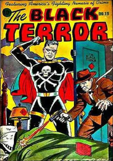 Black Terror (1942) 19-A by Nedor