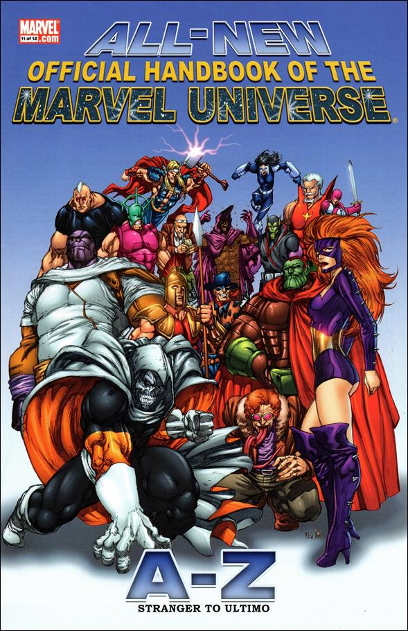 All-New Official Handbook of the Marvel Universe A to Z 11-A by Marvel
