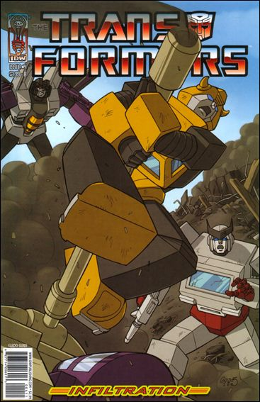 Transformers: Infiltration 4-B by IDW