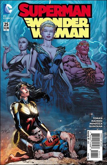 Superman/Wonder Woman 25-A by DC