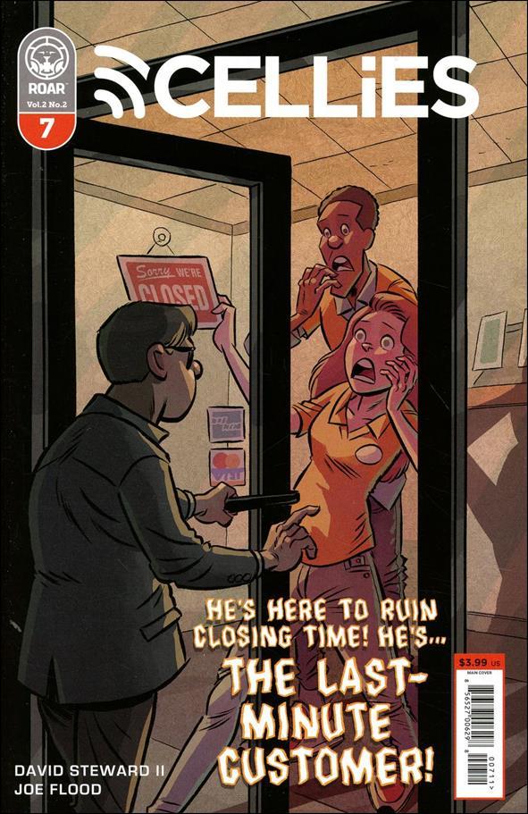 Cellies 7-A by Roar Comics