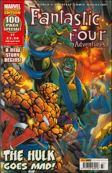 Fantastic Four Adventures (UK) 37-A by Marvel UK