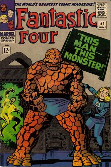 Fantastic Four (1961) 51-A by Marvel