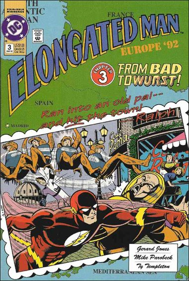 Elongated Man 3-A by DC
