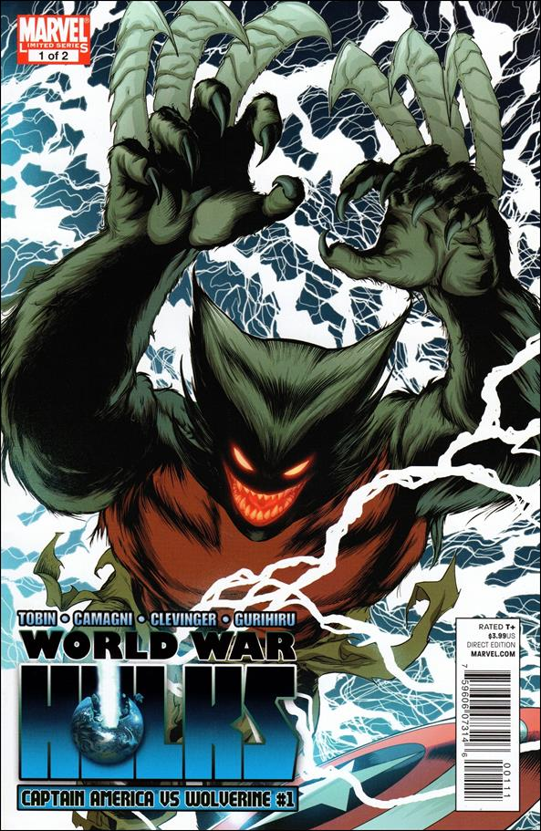 World War Hulks: Wolverine vs Captain America 1-A by Marvel