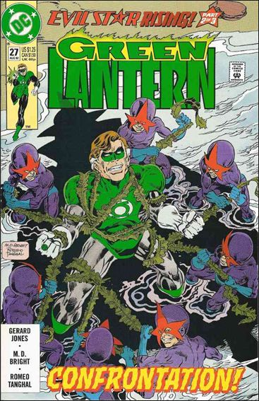 Green Lantern (1990) 27-A by DC